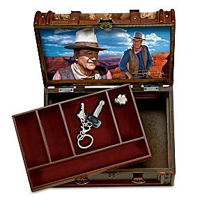 John Wayne Trunk-Style Valet With Hidden Compartment