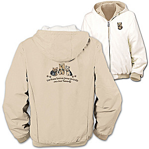 """Loyal Companion"" Yorkie Reversible Jacket"