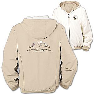 """""""Loyal Companion"""" Bichon Frise Reversible Jacket"""