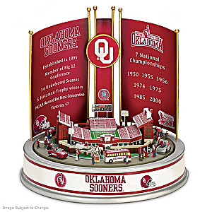 Oklahoma University Sooners Victory Musical Carousel