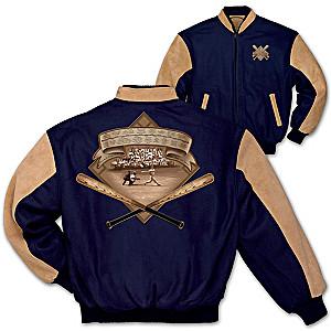 Men's Vintage Varsity Baseball Jacket