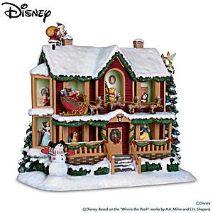 Disneys Night Before Christmas Illuminating Story House