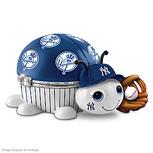 New York Yankees Love Bug Porcelain Music Box