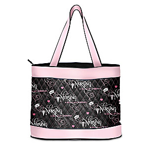 Nursing Tribute Tote Bag With FREE Matching Cosmetic Case