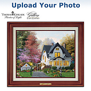 Thomas Kinkade Gallery Editions Personal Home Portrait