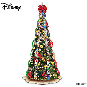 disney wondrous christmas pre lit pull up tree