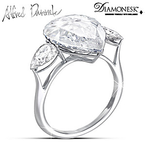 """Brilliant Legend"" Replica Alfred Durante Diamonesk Ring"