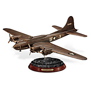 70th Anniversary Memphis Belle Cold-Cast Bronze Sculpture