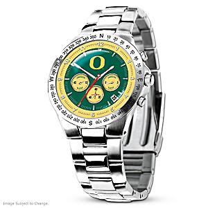 Oregon Ducks Commemorative Men's Chronograph Watch