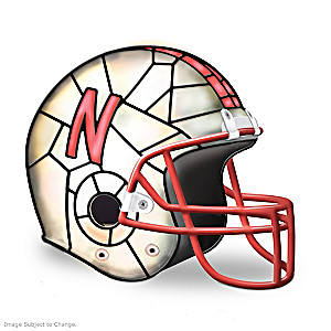 Nebraska Huskers Officially-Licensed Football Helmet Lamp