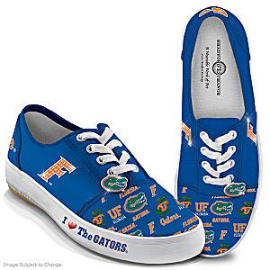 University Of Florida Gators Women's Canvas Sneakers