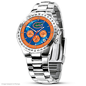 Florida Gators Commemorative Stainless Steel Watch