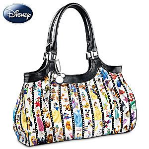 """""""Forever Disney"""" Shoulder Bag With Inspiring Embossed Plaque"""