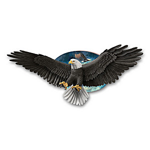 "Ted Blaylock ""Force Of Nature"" Eagle Wall Decor"