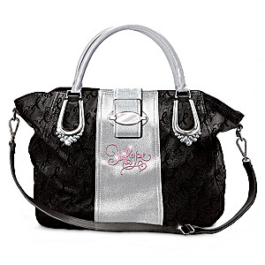 "Breast Cancer Awareness ""The Ribbons Of Hope"" Handbag"