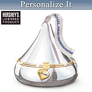 HERSHEY'S KISSES Personalized Music Box For Granddaughters