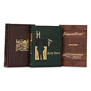 Mark Twain First Edition Library 3-Volume Replica Book Set