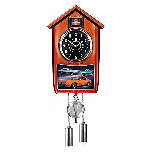Pontiac GTO Wall Clock Lights Up With Revving Sound