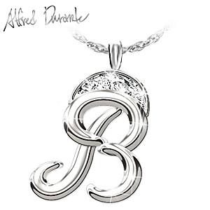 "Alfred Durante ""Diamond Signature Pendant"" Necklace"
