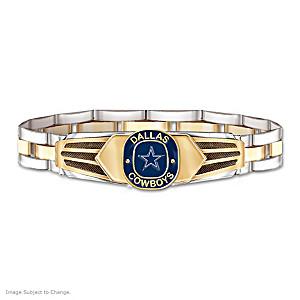 Dallas Cowboys Men S Stainless Steel Bracelet