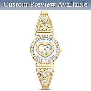 A Mother's Timeless Love Watch Up To 6 Birthstones And Names