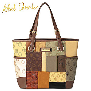 "Alfred Durante ""South Hampton"" Patchwork Tote Bag"