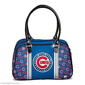 "Designer-Style Chicago Cubs ""City Chic"" Handbag"