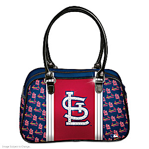"Designer-Style St. Louis Cardinals ""City Chic"" Handbag"
