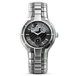 """The Open Road"" 2-Tone Stainless Steel Men's Watch"