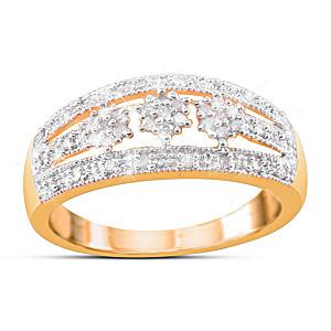 """Majestic"" 41-Diamond Cluster Ring"