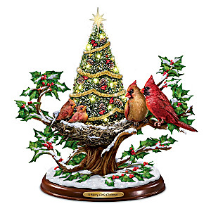 a merry little christmas illuminated musical tabletop tree - Little Christmas Tree