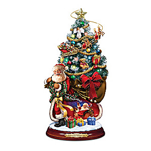 Dona Gelsinger Christmas Tree With Lights, Music And Motion