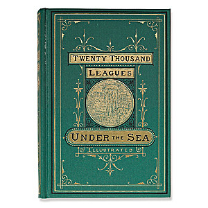 Twenty Thousand Leagues Under The Sea First Edition Replica