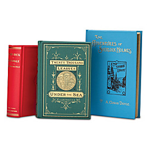 19th Century Adventure First Edition 3-Volume Replica Books
