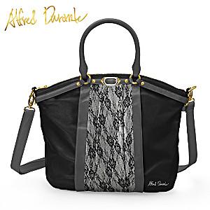 "Alfred Durante ""The Duchess"" Lace-Style Designer Handbag"