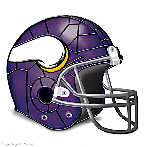 Minnesota Vikings Football Helmet Accent Lamp