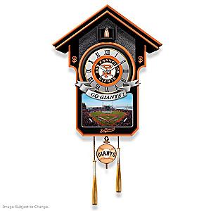 San Francisco Giants Tribute Wall Clock