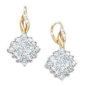 """Diamond Delight"" Earrings With Over 1/2 Carat Of Diamonds"