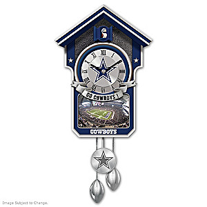 Dallas Cowboys Tribute Wall Clock