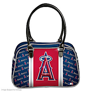 Designer-Style Los Angeles Angels Of Anaheim Handbag