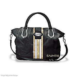 "New Orleans Saints ""Crescent City Chic"" Handbag"
