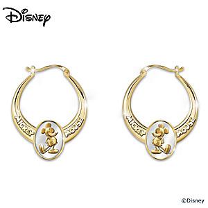 """Celebrate Mickey!"" Earrings With Commemorative Replica Tin"
