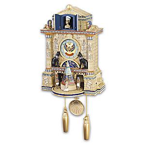 """Treasures Of Ancient Egypt"" Wall Clock"