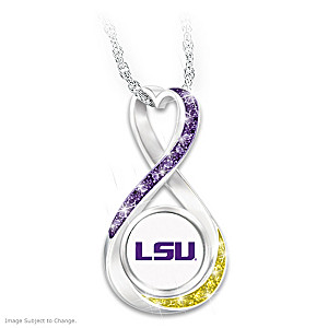 LSU 2019 Football National Champions Infinity Pendant