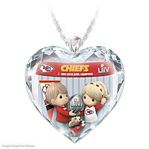 Go Chiefs! Super Bowl LIV Champions Pendant Necklace