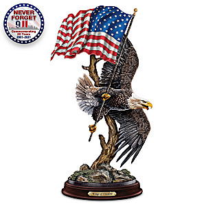 "Ted Blaylock ""Wings Of Freedom"" Bald Eagle Sculpture"