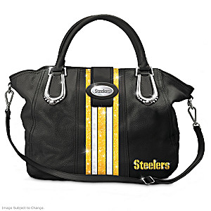 "Pittsburgh Steelers ""Downtown Chic"" Handbag"