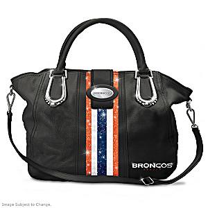"""Denver Broncos """"Mile High City Chic"""" Handbag"""