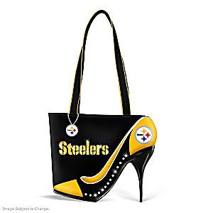 "Pittsburgh Steelers ""Kick Up Your Heels"" Handbag"