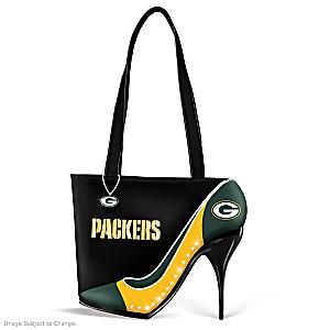"Green Bay Packers ""Kick Up Your Heels"" Handbag"